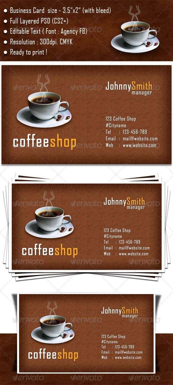 10 best PSD images on Pinterest Advertising, Coffee shop menu - coffee shop brochure template