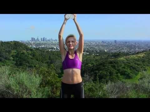 Ćwiczenia na idealne, smukłe ramiona i ręce · z lekkimi ciężarkami - YouTube