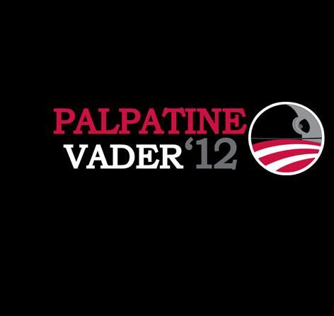 Vote Empire by Hugs & Guns - Shirt sold on September 11th at http://teefury.com: Palpatin Vader, Vader 12, Stars War, 2012 Tshirt, Vote Empire, Dark Side, Vader 2016, T Shirts, Palpatin Vad 2012