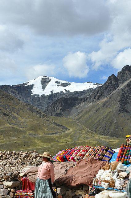 Puno, Peru. On the way so beautiful.