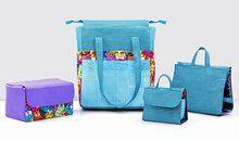 Bolsas e acessórios em tecido para diferentes profissões com Luciana Jaber