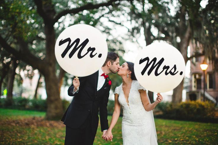 Image result for mr mrs balloon photo
