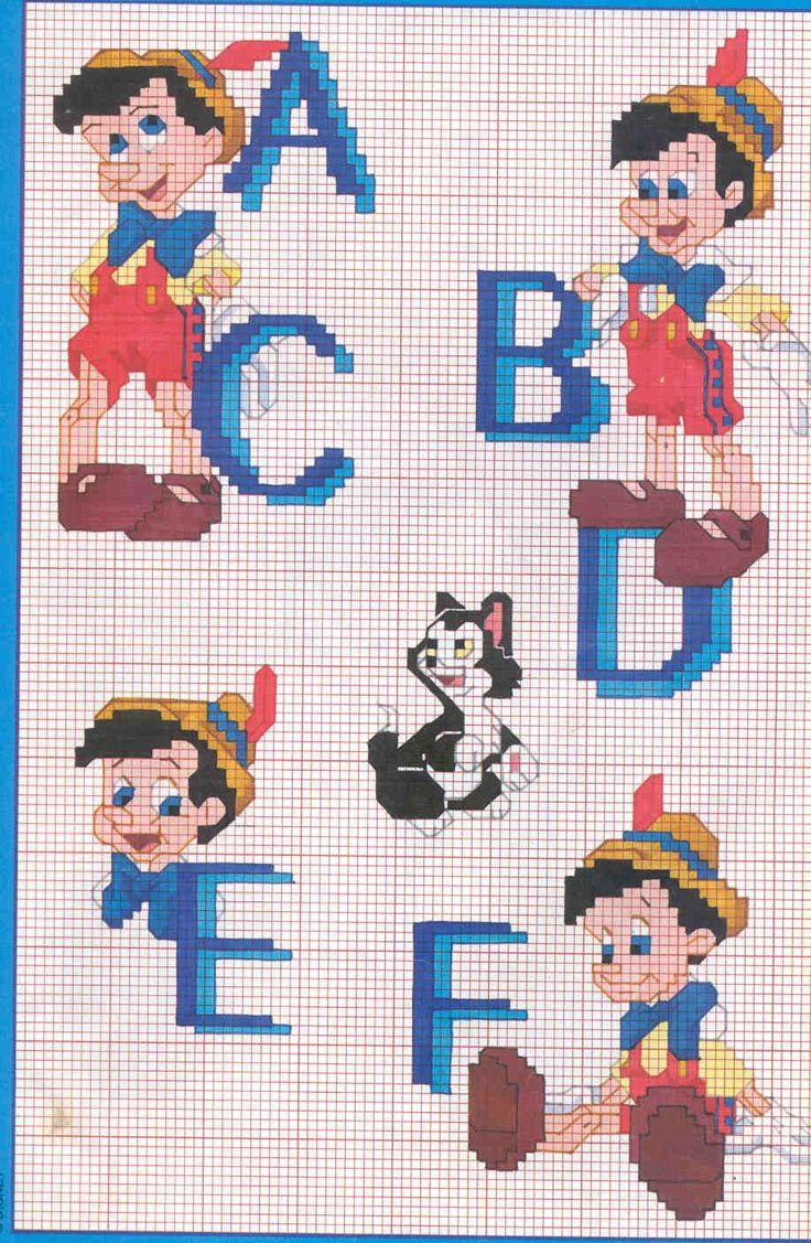 48 best images about cross stitch lettering on pinterest for Immagini disney punto croce