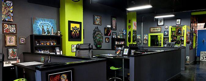 Tattoo Shop Design Ideas