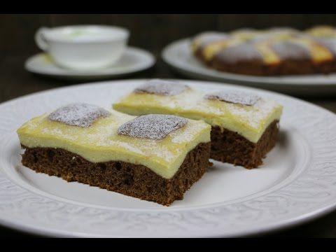 """Пирог """"Творожный красавчик / Стеганое одеяло"""" очень простой и вкусный. - YouTube"""