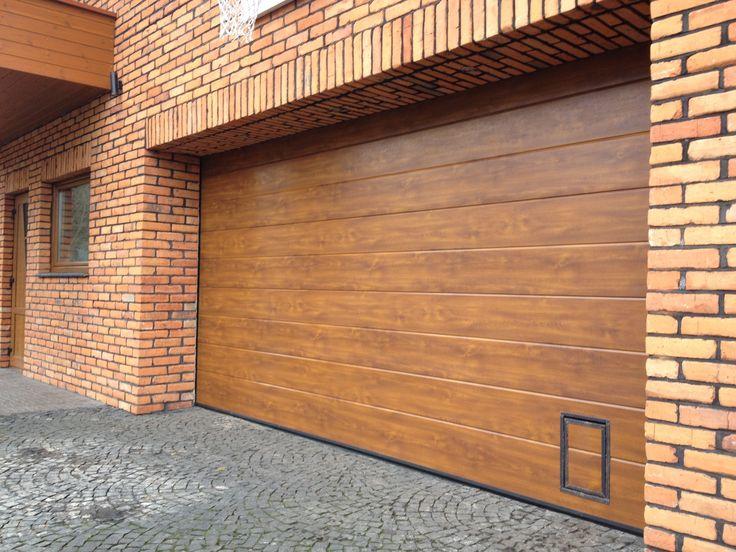 Wood Colored Garage Doors