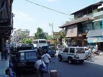 De hoofdstad van Bali (Denpasar)