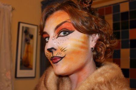 Trucco carnevale 2011 gatto