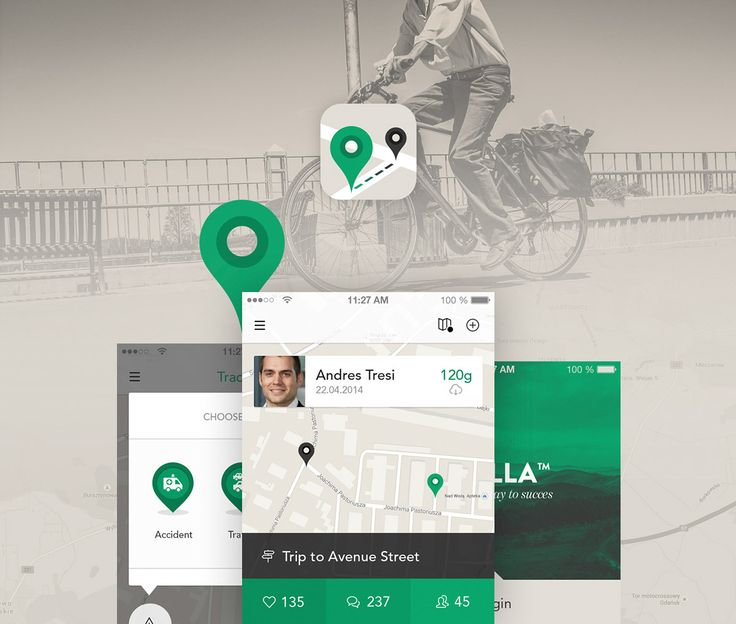 Transport App - iOS8 - iPhone on App Design Served