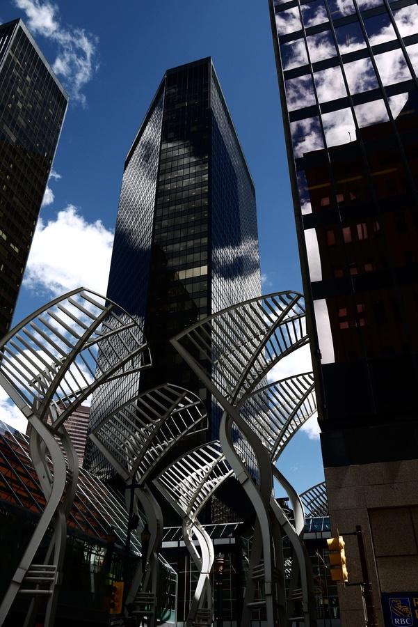 Calgary Architecture, Calgary, Alberta   by Kelly Gibbons, via 500px