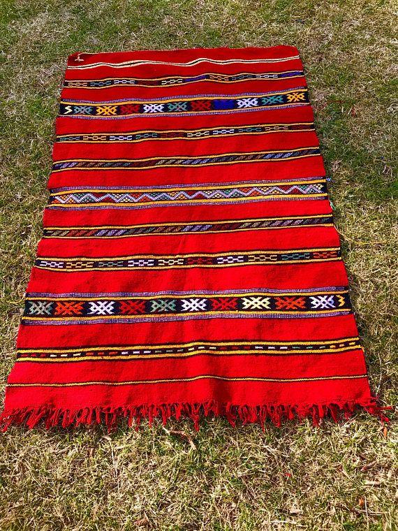 medium berber red atlas zemour carpet