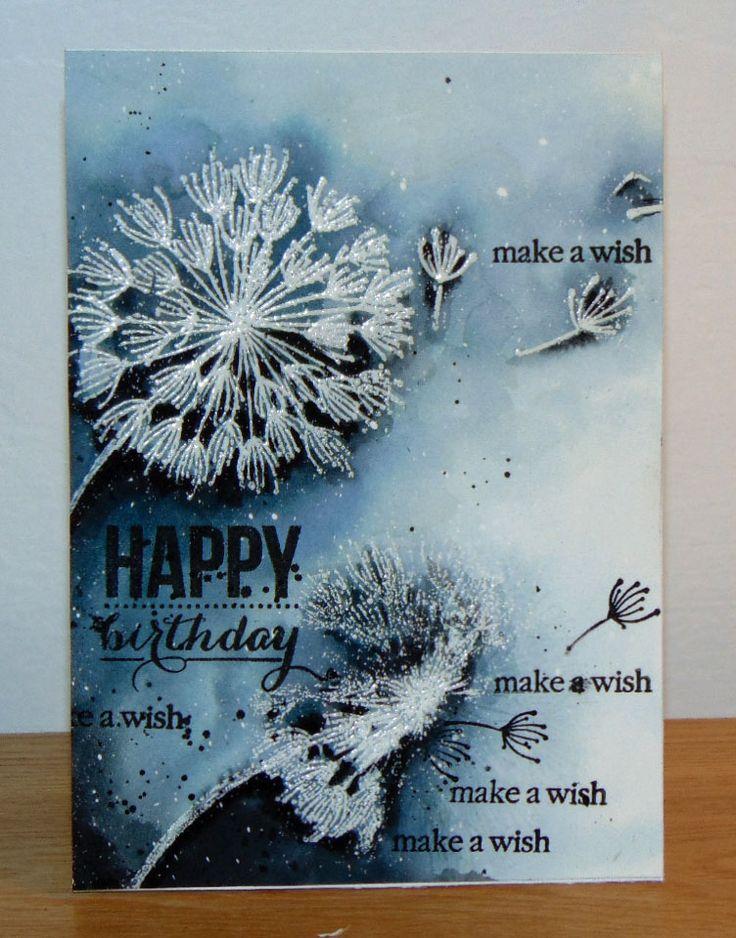 Make a wish... étampes Penny Black