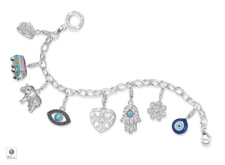 Classic charm bracelet to keep you safe from harm