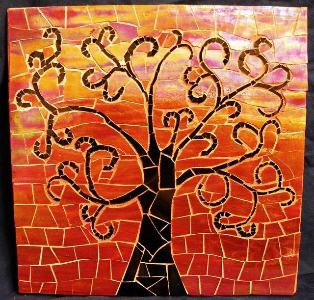 how to make a swirly tree
