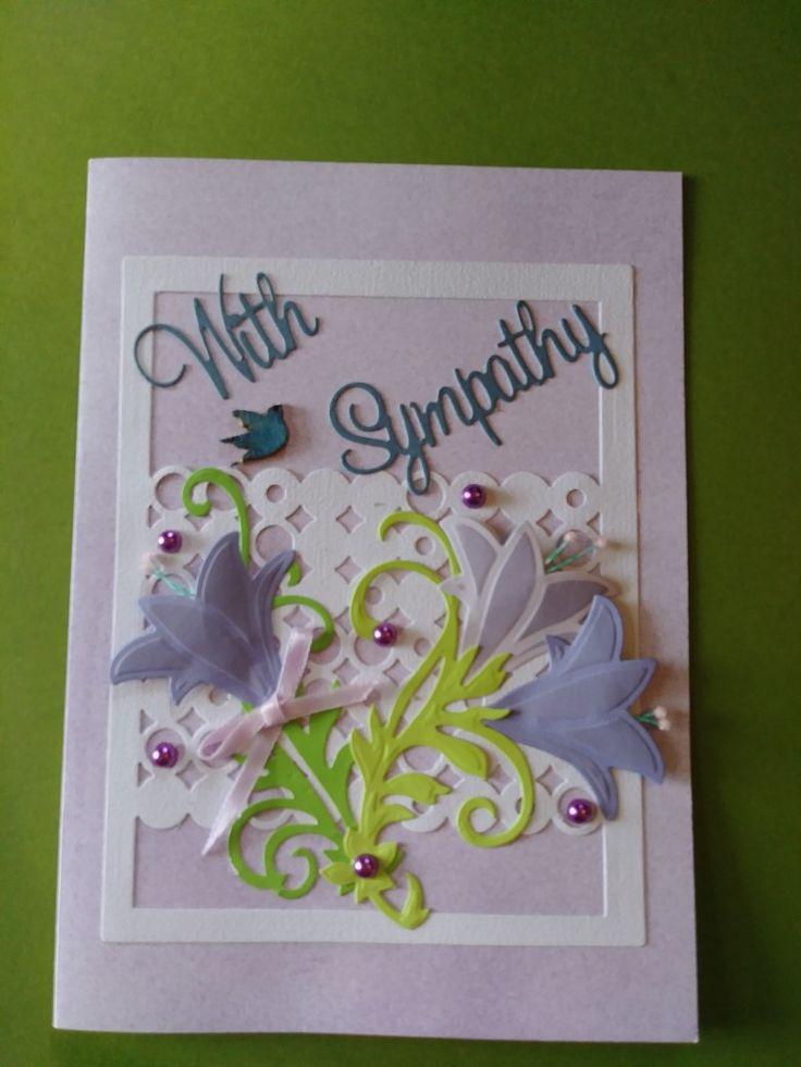 Beautiful sympathy card sympathy cards cards decor