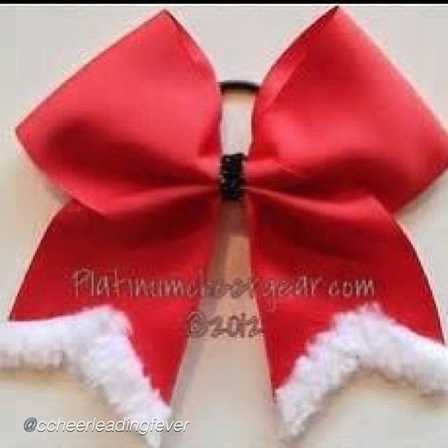 "Cheer bow of the day. by @ccheerleadingfever ""I'm gonna spam you guys and post cute Christmas cheer bows because I'm in a christmas-y mood❄☺⛄❤ spam 4/6 #cheer #christmas #cheerbows"" via @InstaReposts #cheerbow #beautiful #cheerleading #cheerleader #cheerleaders #allstarcheer #allstarcheerleading #cheerislife #bows #hairbow #hairbows #bows"