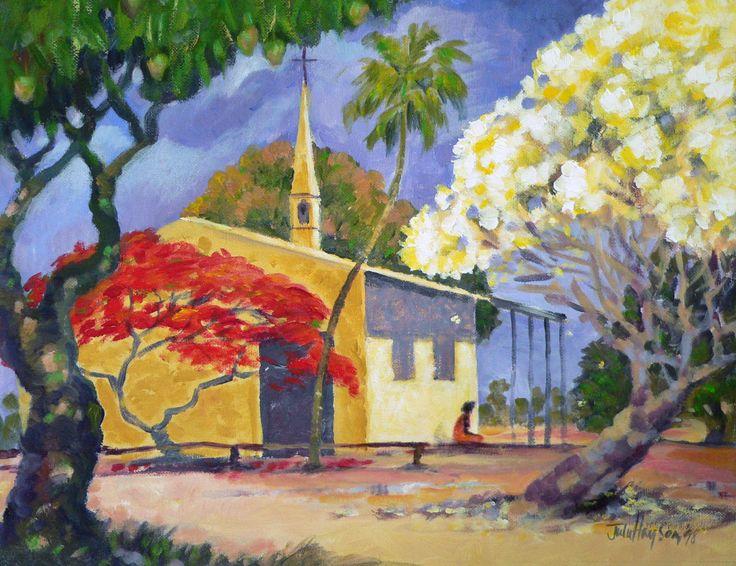 #acrylic #painting #Aurukun #juliehaysom