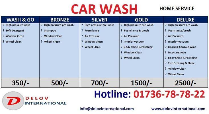 CAR WASH PRICE
