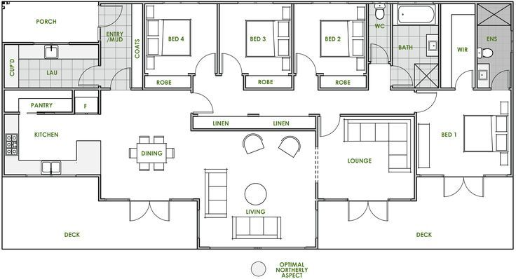 Energy Efficient Home Upgrades in Los Angeles For $0 Down -- Home Improvement Hub -- Via - The Oxley offers the very best in energy efficient home design from Green Homes Australia. Take a look at the floor plan here.