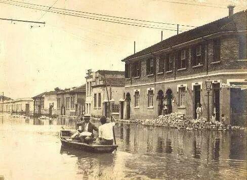 1929 - Rua Voluntários da Pátria esquina rua Doutor César.