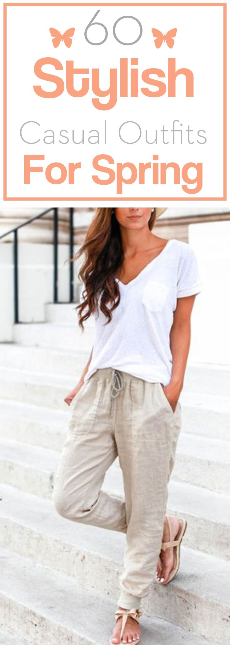 60 Stylish casual outfits for spring