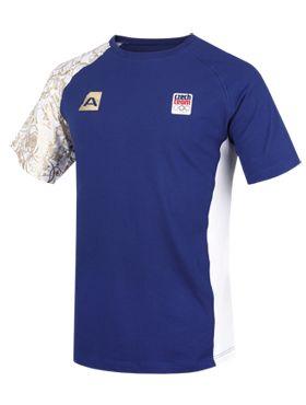 Pánské triko z olympijské kolekce 2014 potěší všechny sportovně založené chlapy. Je v českých barvách, stejné jako obléká naše reprezentace.