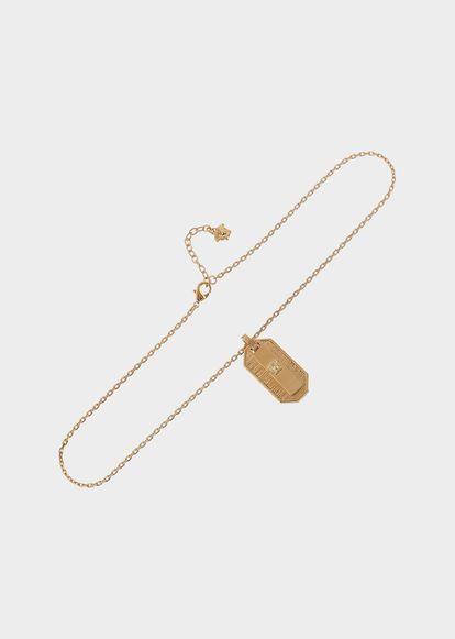 Medusa Head Dog Tag Necklace - D00O Necklaces