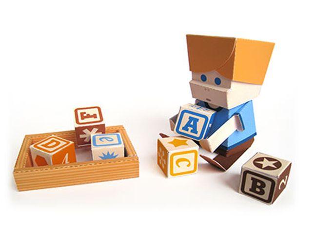 Printable paper toys