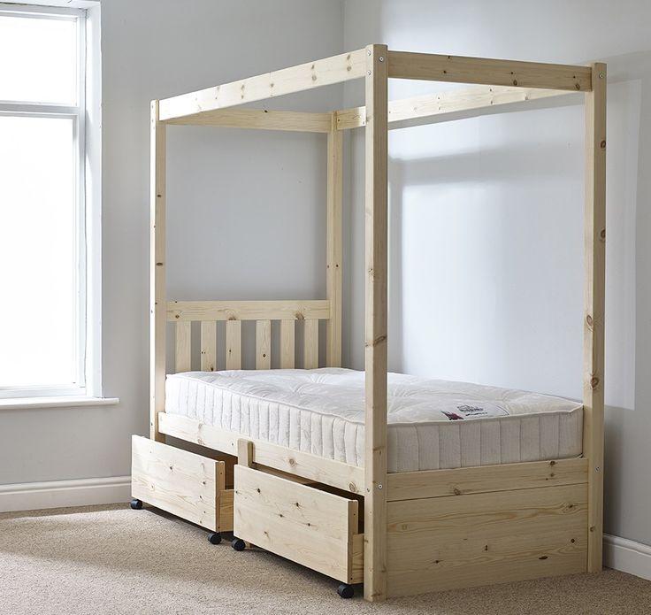 4 Piece Modus Kentfield Solid Wood Bedroom Set: Best 25+ Pine Bed Frame Ideas On Pinterest