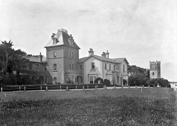 Claremont Hotel Howth Co Dublin Published Created Between Ca