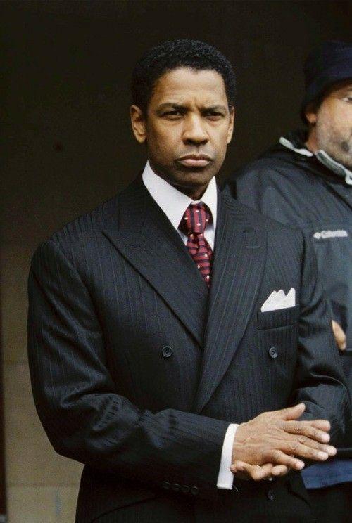 Denzel Washington Frank Lucas American Gangster Denzel