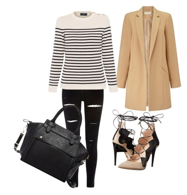 Untitled #33 by bee100 on Polyvore featuring polyvore fashion style Saint James Miss Selfridge River Island Ruthie Davis Pink Haley clothing