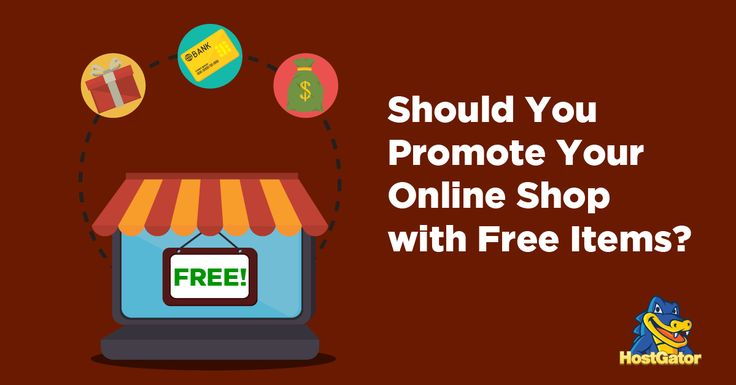 Should You Promote Your Online Shop With Free Items?