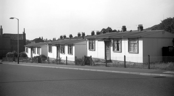 Pre-Fab houses - I remember the one my other grannie lived in, in the 1950s and 60's. I loved visiting her and her back garden was huge (to me at age 5!)