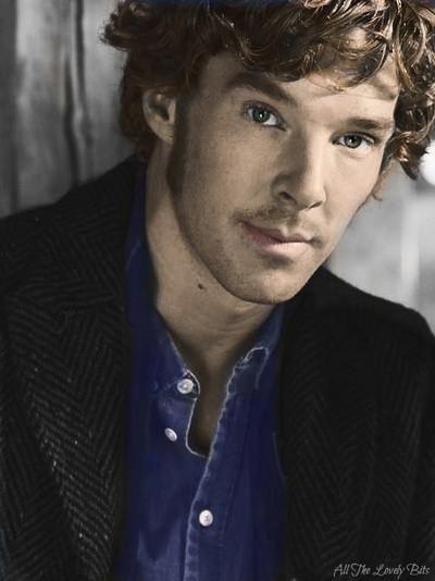 This might be one of the best pictures of him that I've seen. Wow. Benedict is gorgeous