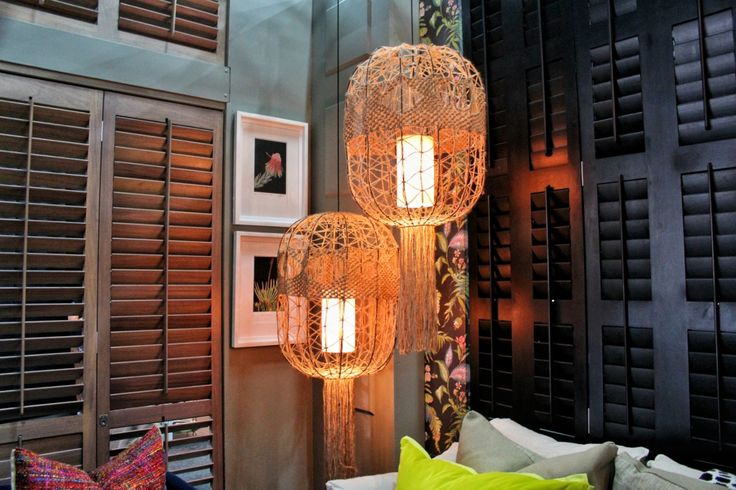 wool lampshades