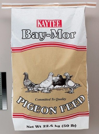 Kaytee Products Food Baymor Dove Pigeon Feed High Protein Pellet Formulated 50 lb