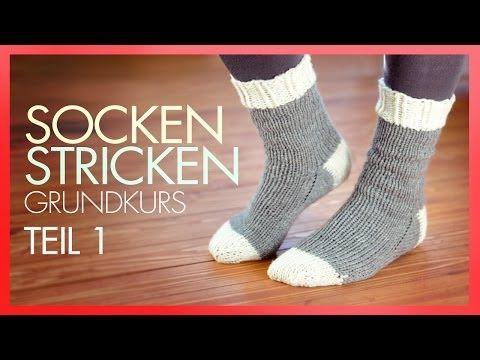 Socken stricken mit Rundstricknadeln! – ANA KRAFT