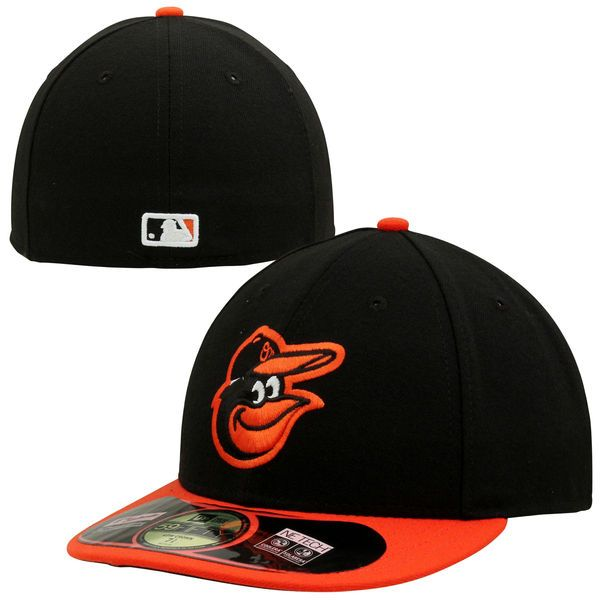 Baltimore Orioles New Era Authentic Collection Low Profile Home 59FIFTY Fitted Hat - Black - $34.99