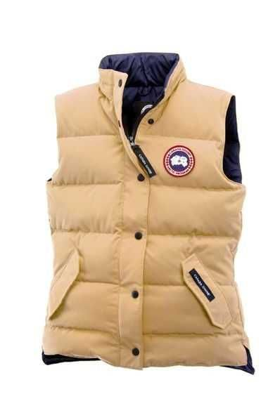 Canada Goose Freestyle Vest Wasaga Sand For Women