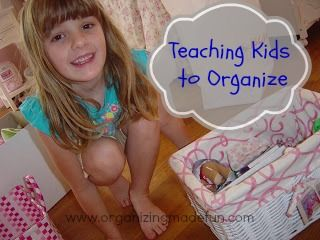 Teaching kids to Organize and De-clutter   OrganizingMadeFun...