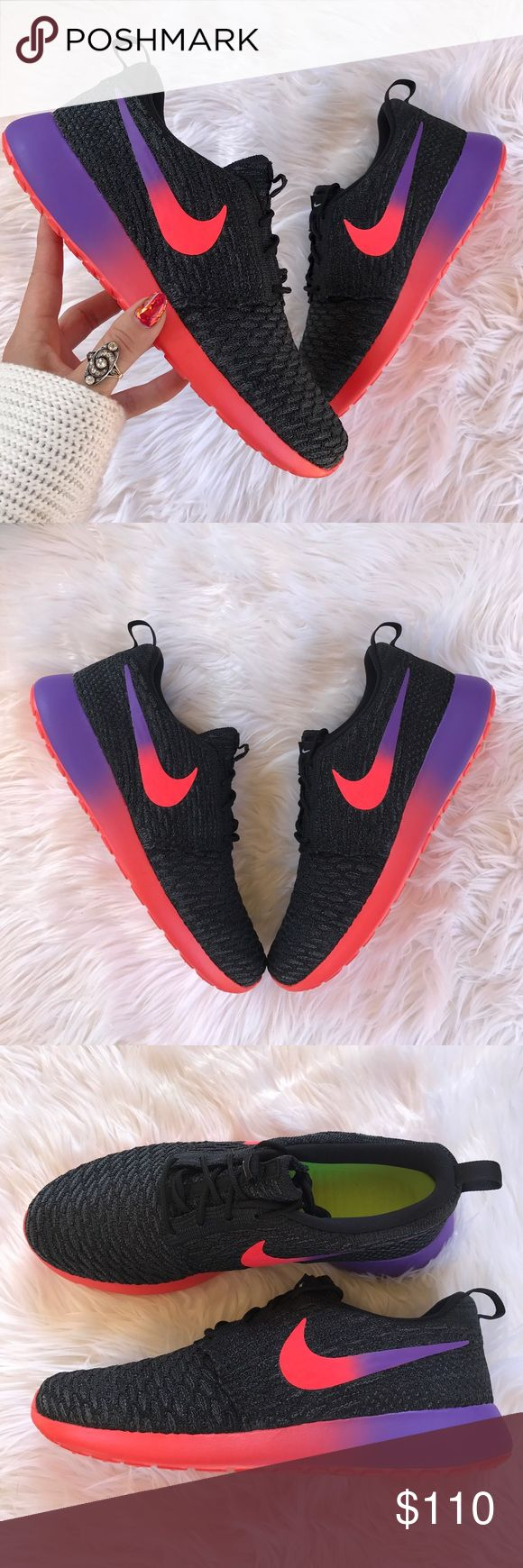 Nike Roshe Two Atomic Pink Turf Orange Sail Women Running Shoe