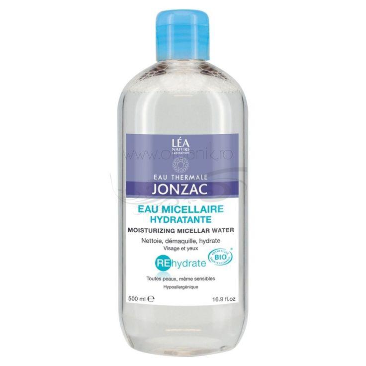 Apa micelara Rehydrate - JONZAC este un produs pentru ingrijirea pielii, care elimina machiajul si o curata. Aceasta este ideala pentru persoanele cu ten sensibil, care doresc o curatare blanda.