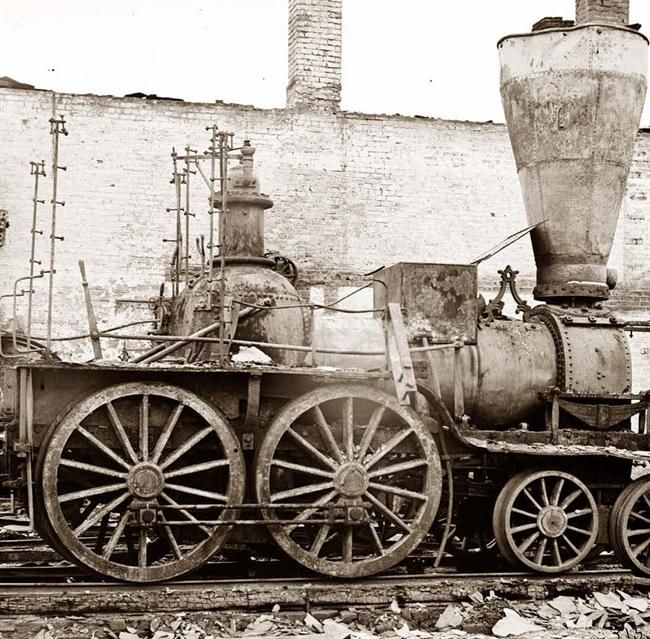 Civil War Locomotive