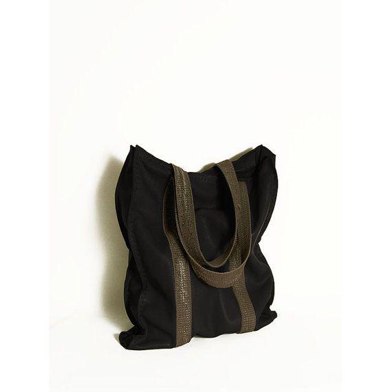 #Black_leather. #Tote_women_bag.  Black leather by ElenaVandelliBags