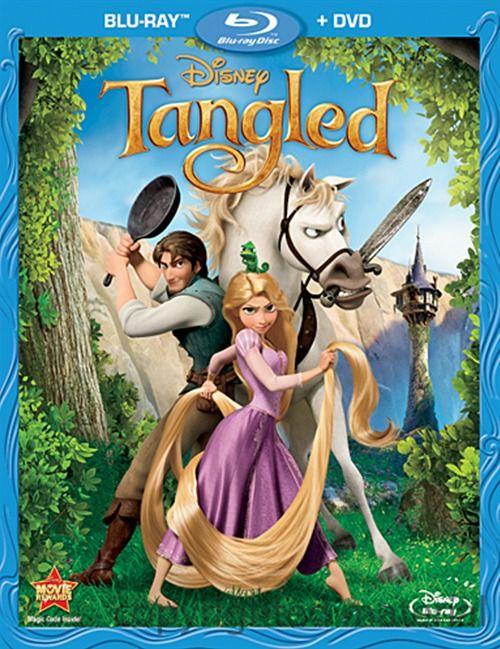 Tangled (Blu-ray + DVD Combo) (Blu-ray 2010) | DVD Empire
