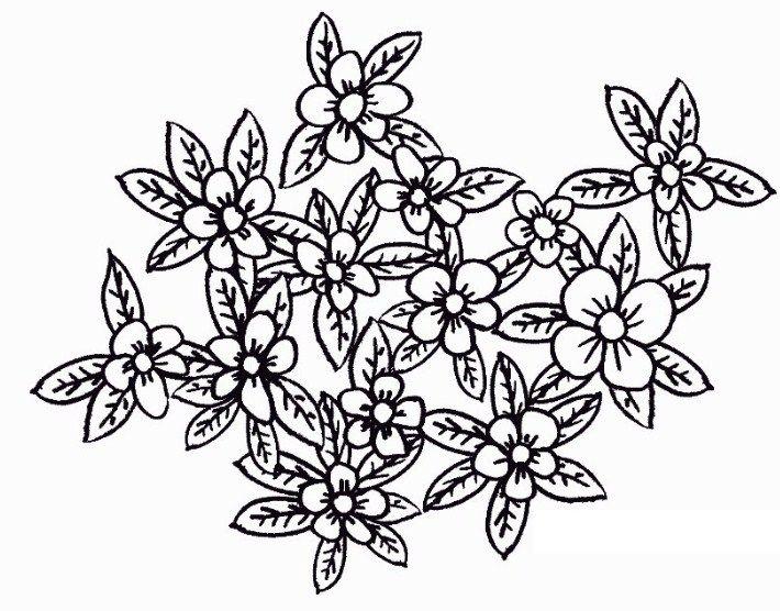 Cara Menggambar Dan Mewarnai Kebun Bunga Gradasi Warna Oil
