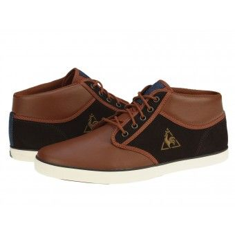 Ghete sport barbati Le coq sportif Brancion reglisse-tan brown