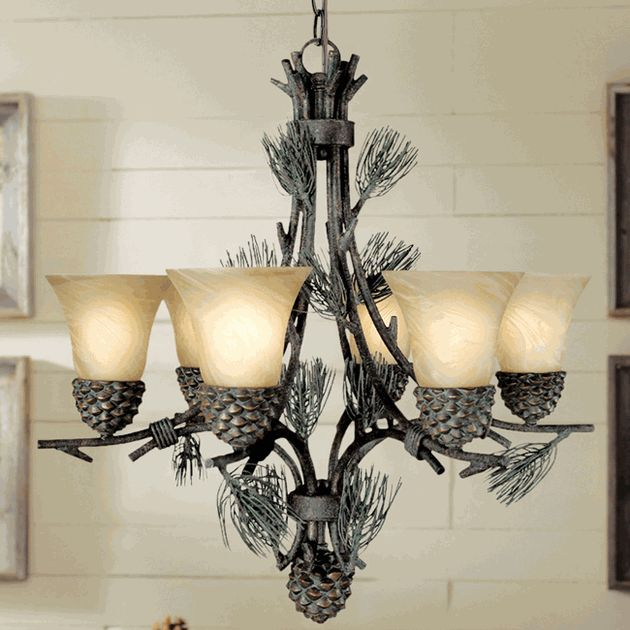 Rustic Chandeliers For Dining Room: 61 Best Home Lodge Lighting & Decor Images On Pinterest