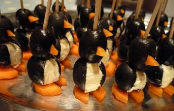 Penguin Canapes (perfect Christmas canapes!) Recipe at MyDish